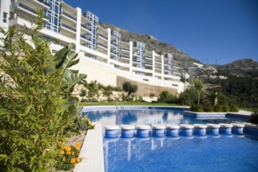 1834 - Apartment with sea views - Altea Hills - Costa Blanca