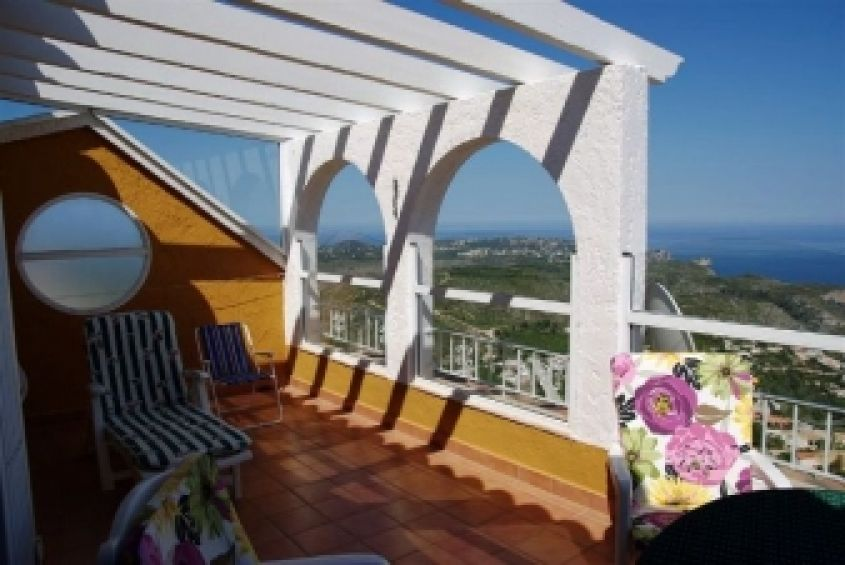 1944 - Townhouse with Sea Views - Cumbre del Sol - Costa Blanca