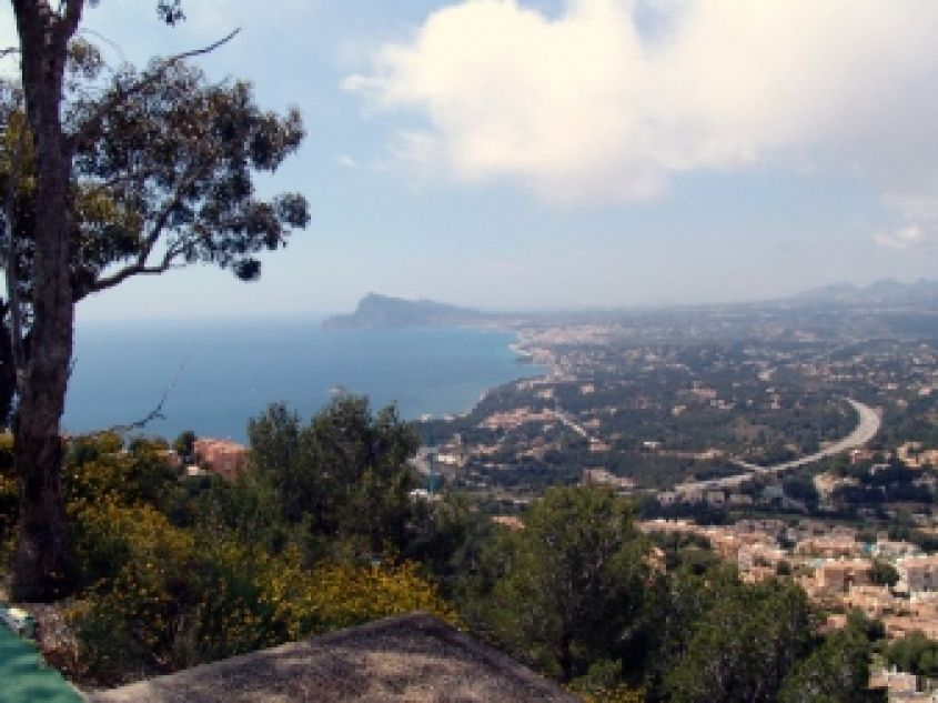 1867 - Land with sea views Altea Hills - Costa Blanca